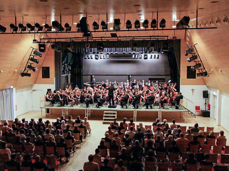 Den Abschluss der Woche bilden natürlich die Konzerte an wechselnden Orten.
