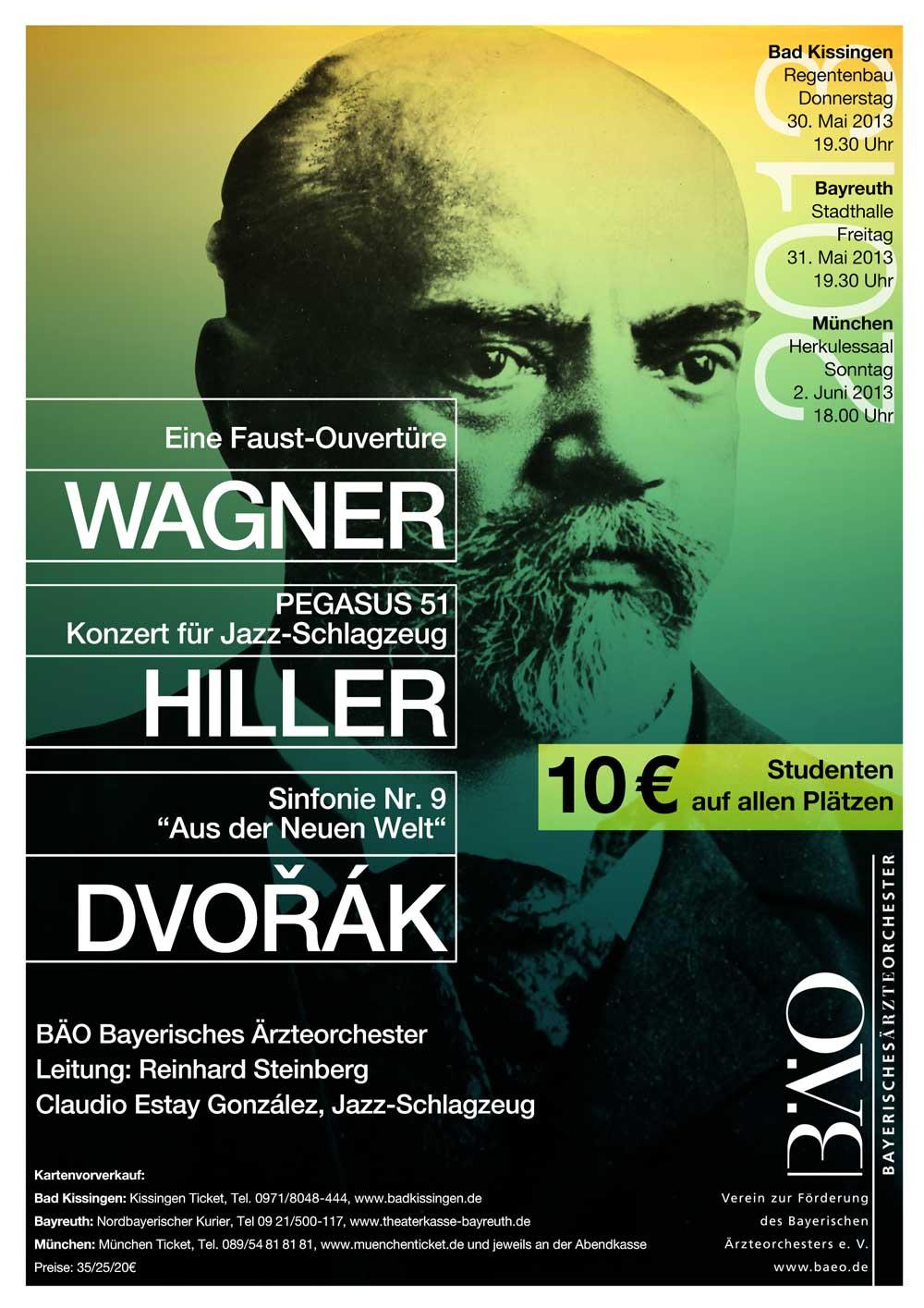 Plakat Bayerisches Ärzteorchester 2013