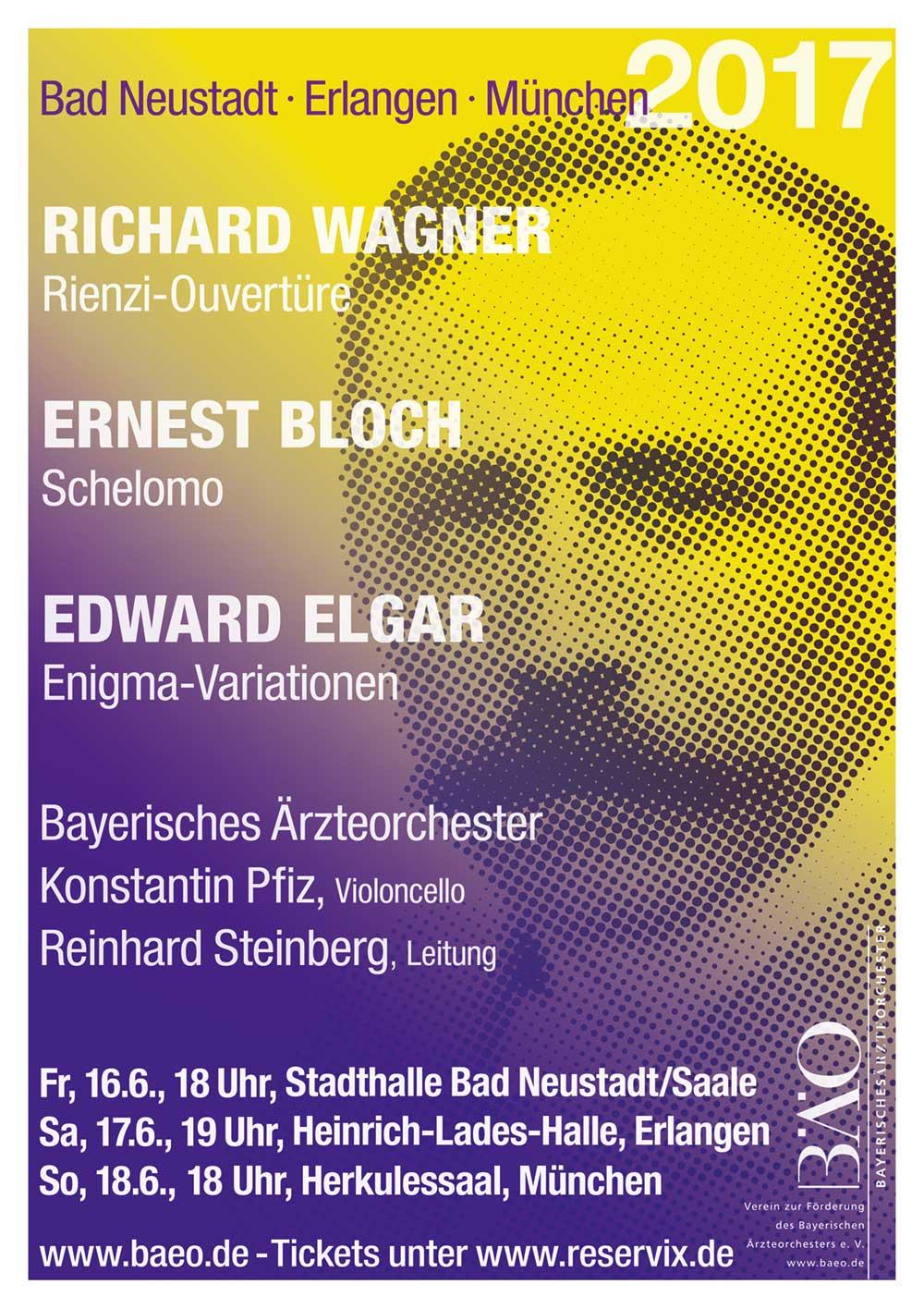 Plakat Bayerisches Ärzteorchester 2017