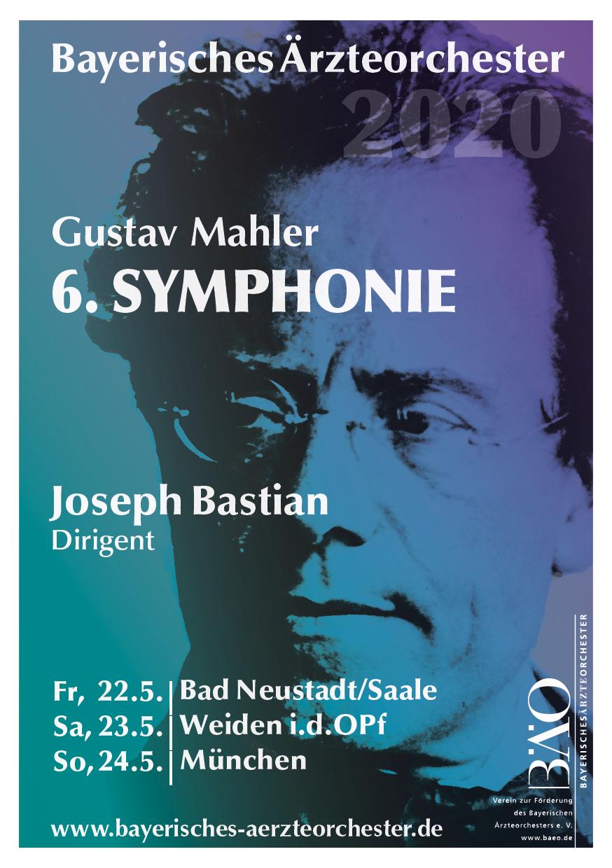Plakat Bayerisches Ärzteorchester 2020